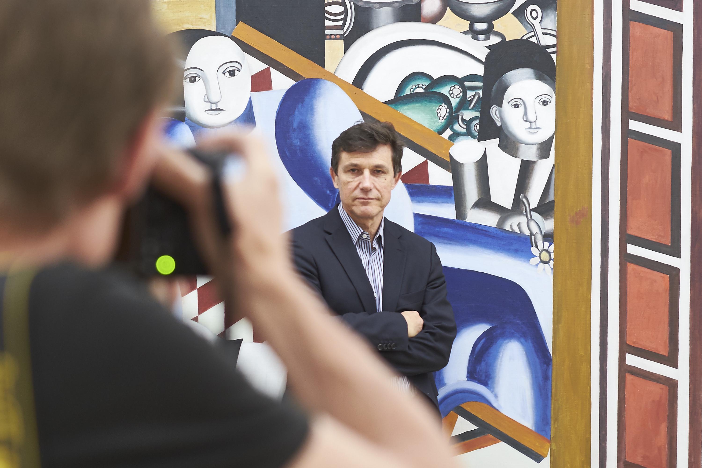 Stellt sich der Herausforderung: Kunstmuseums-Direktor Josef Helfenstein.