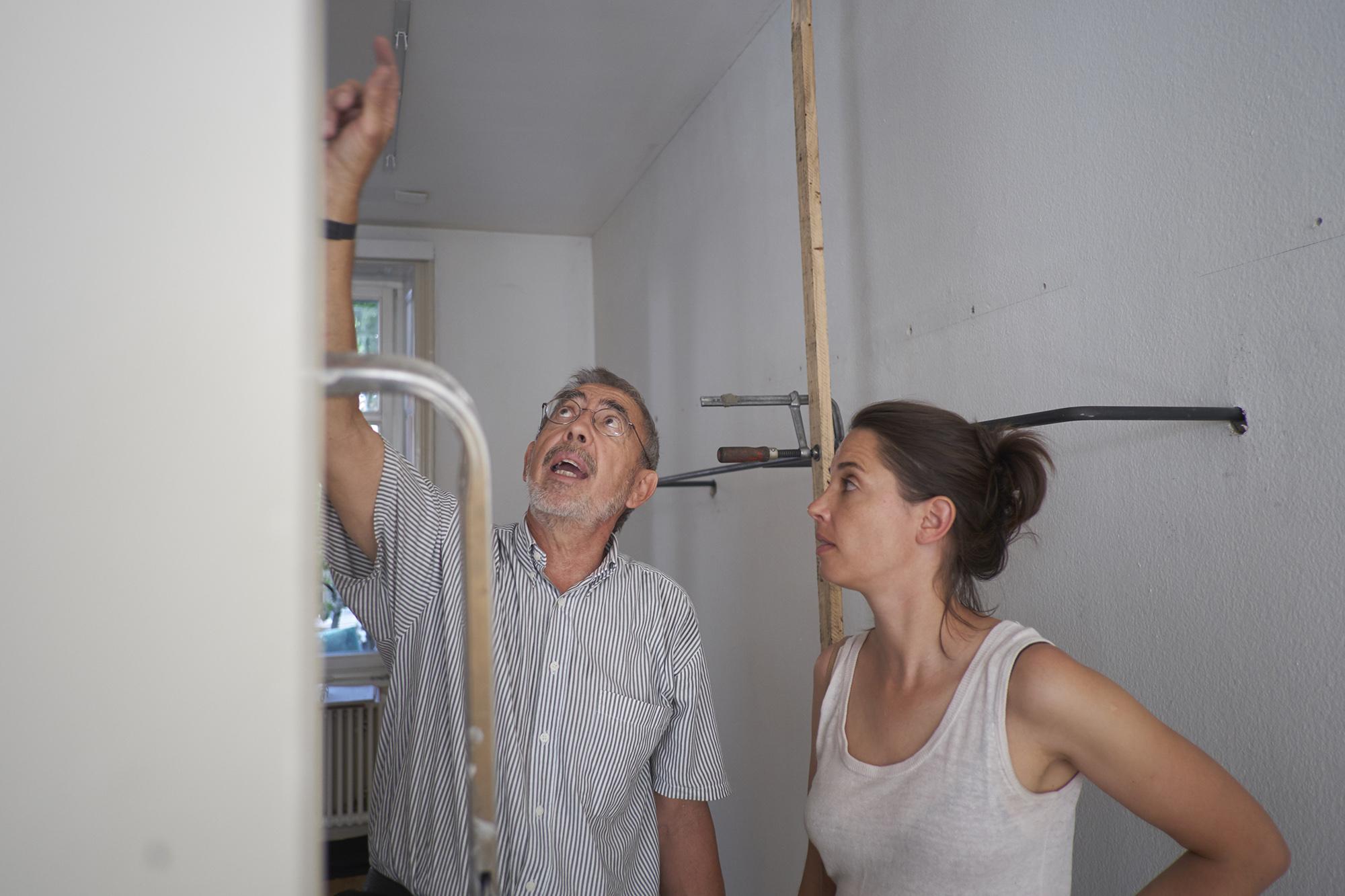 Komplett-Umbau innert 10 Tagen: eine Herausforderung für Andrea Otto und ihre Handwerker.