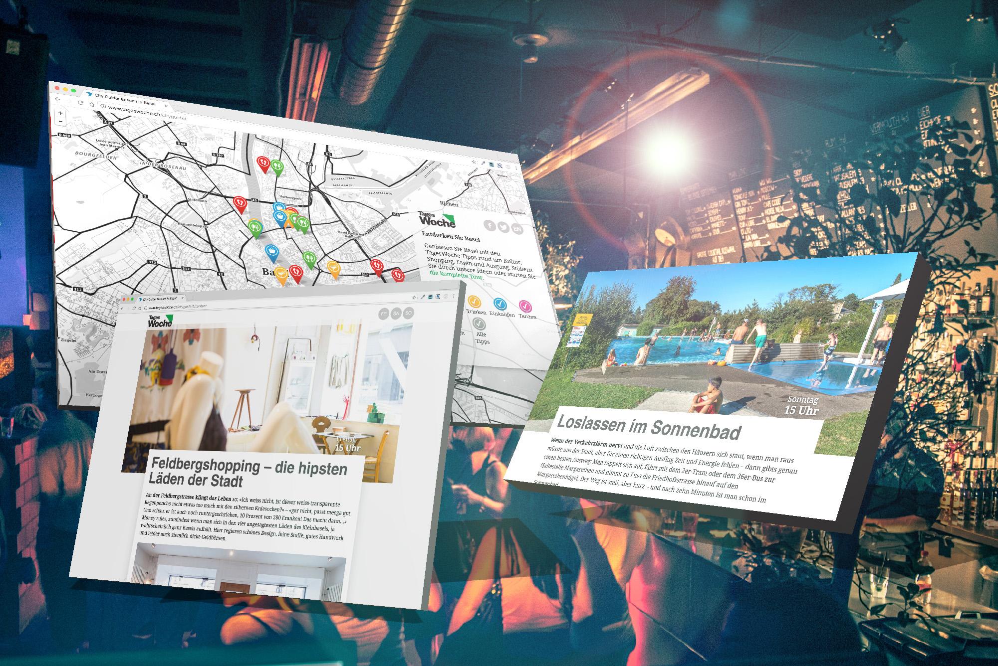 Wo Basel am Schönsten, Coolsten, Spannendsten ist – der TagesWoche-City Guide «72 Stunden in Basel».