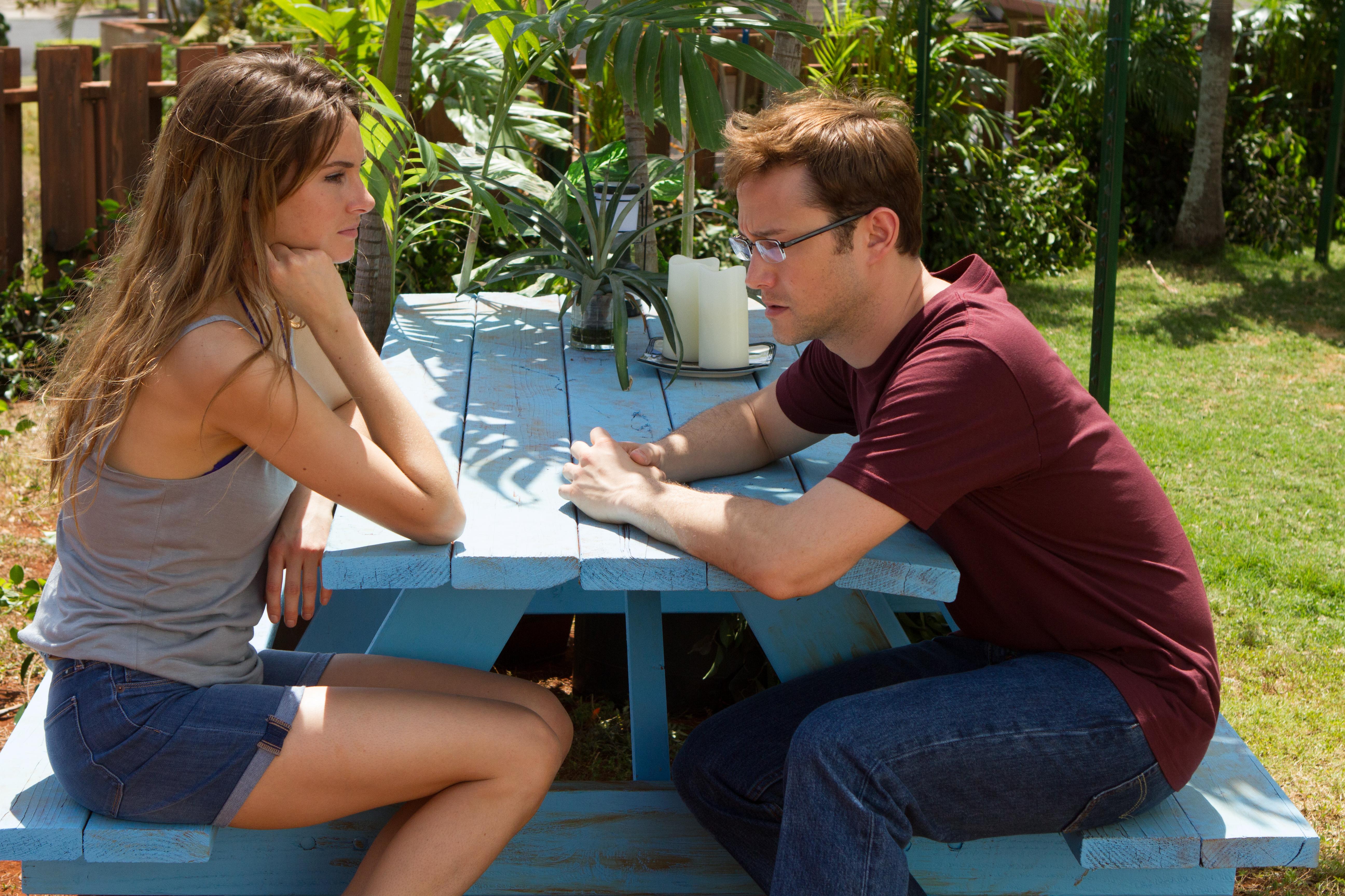 Schwierige Liebesgeschichte auch im Paradies auf Hawaii: Snowden und Lindsay Mills (Shailene Woodley)