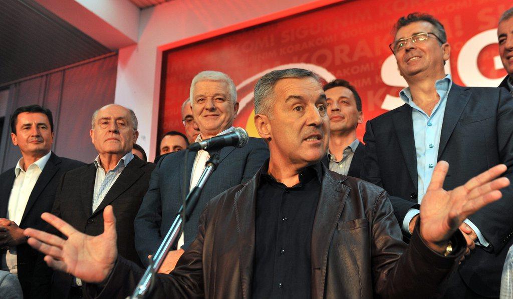 Unregelmässigkeiten? Für Präsident Milo Djukanovic haben laut NGOs sogar die Toten gestimmt.