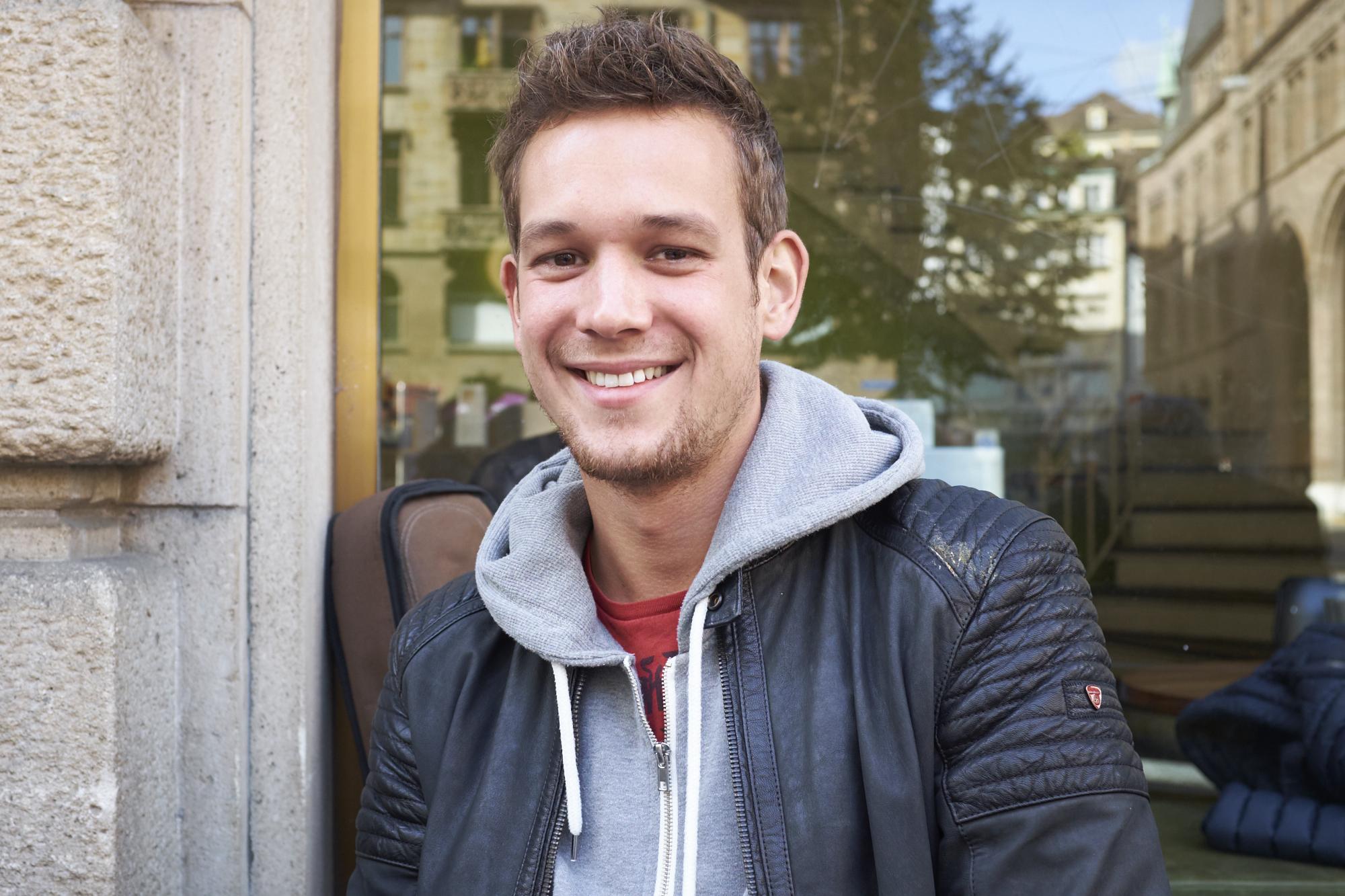 Roman Zimmermann (24), Personalassistent aus Basel