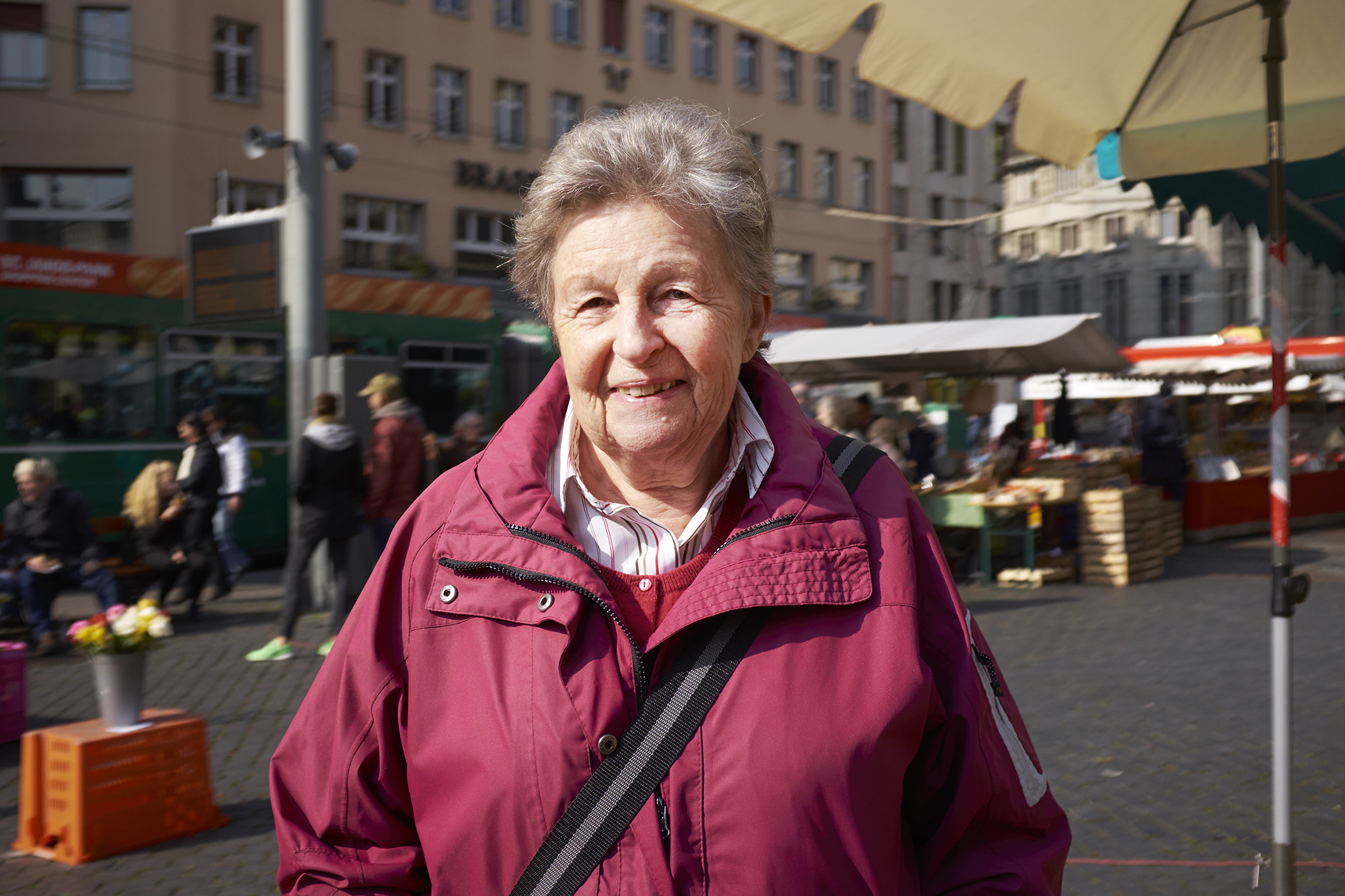 «Man sollte immer zwischen beiden Seiten abwägen», sagt Marie-Louise Gamma aus Riehen.