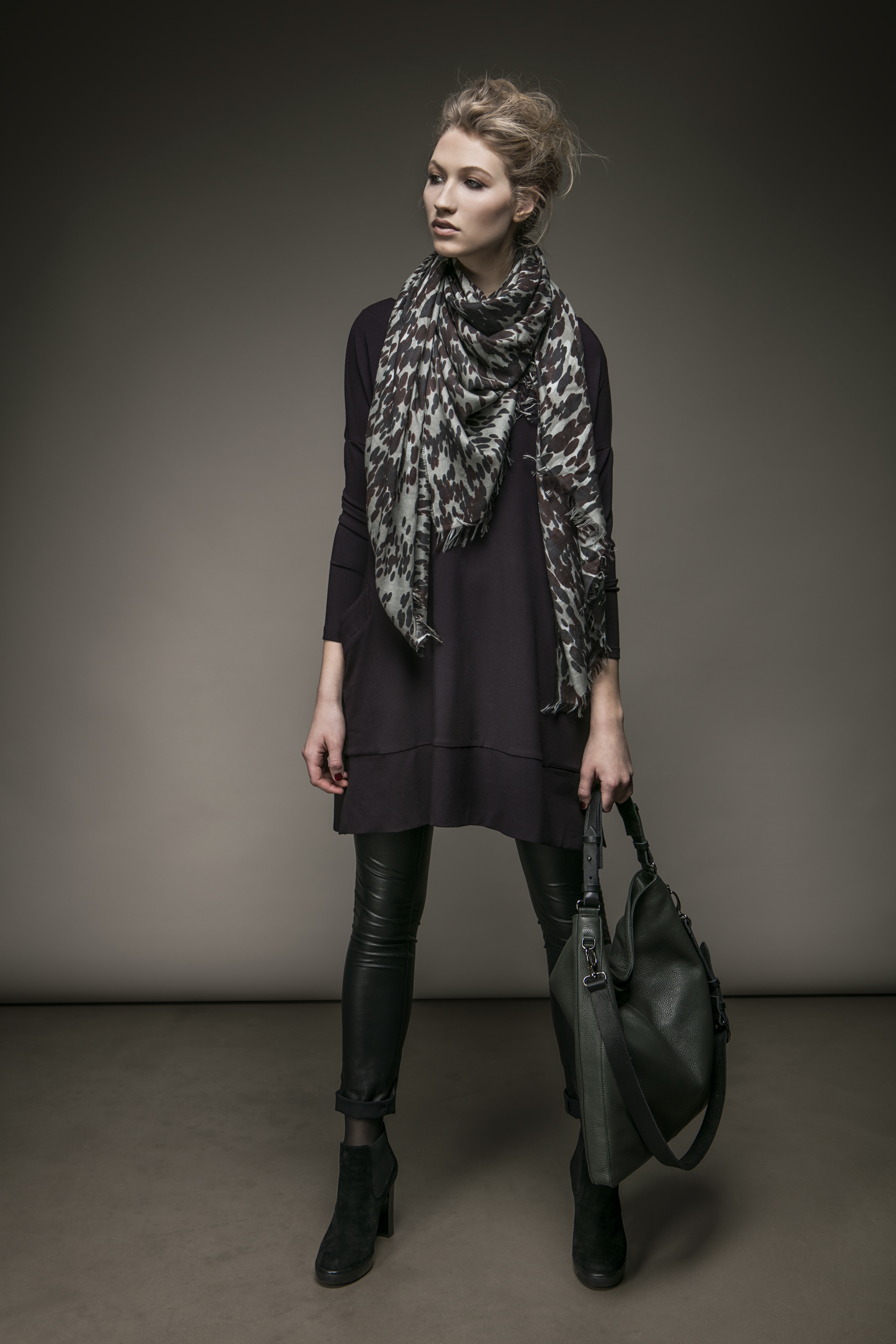 Ob Bluse oder Schal: Hauptsache bedruckt.
