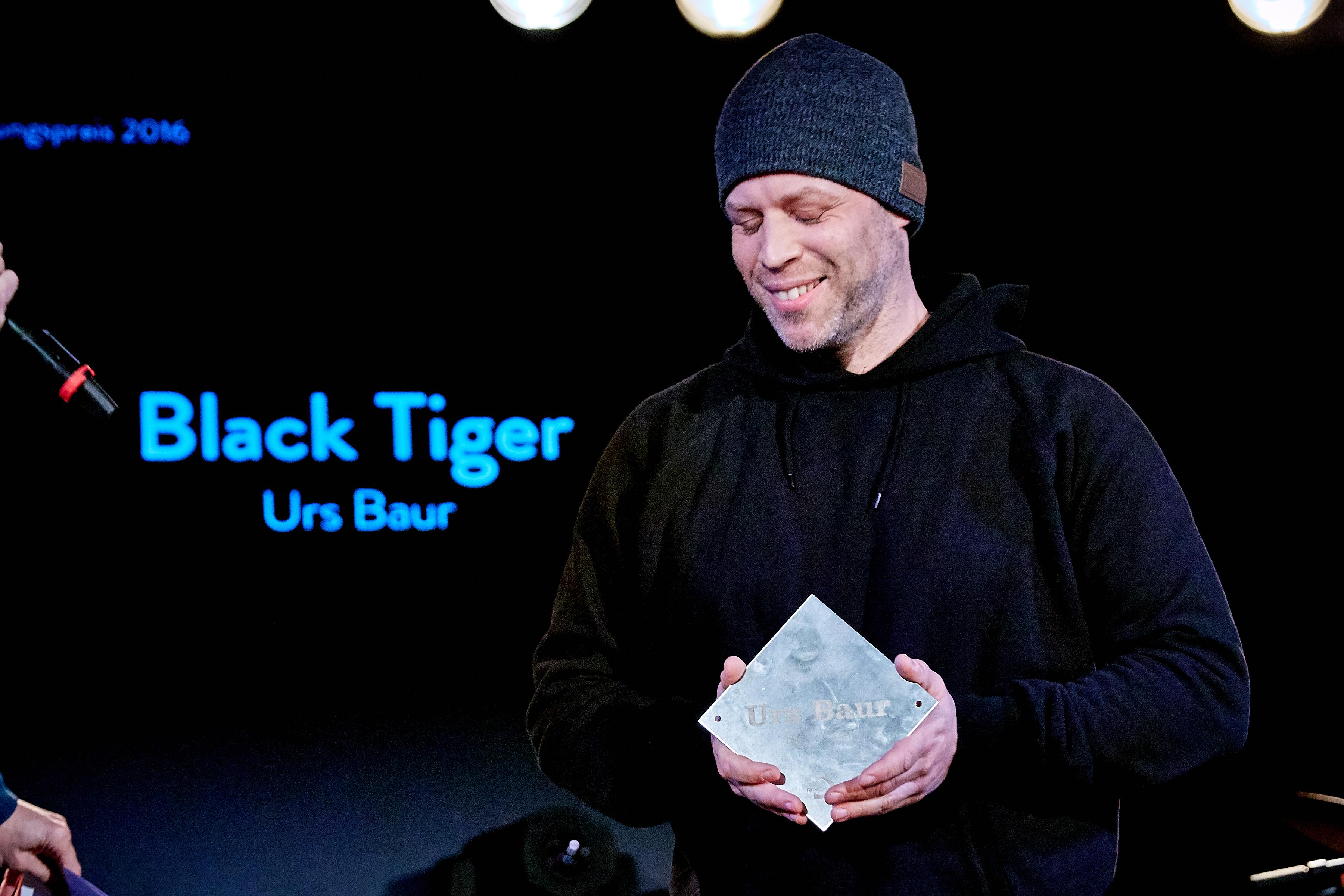 Anerkennungspreis für sein langjähriges Schaffen: Black Tiger.