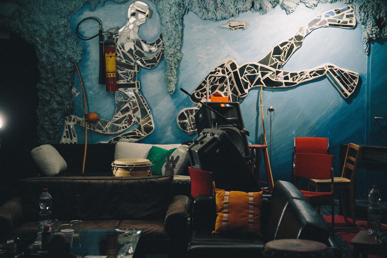 Der Probekeller von Alma Negra ist ein Ort der Kreativität.