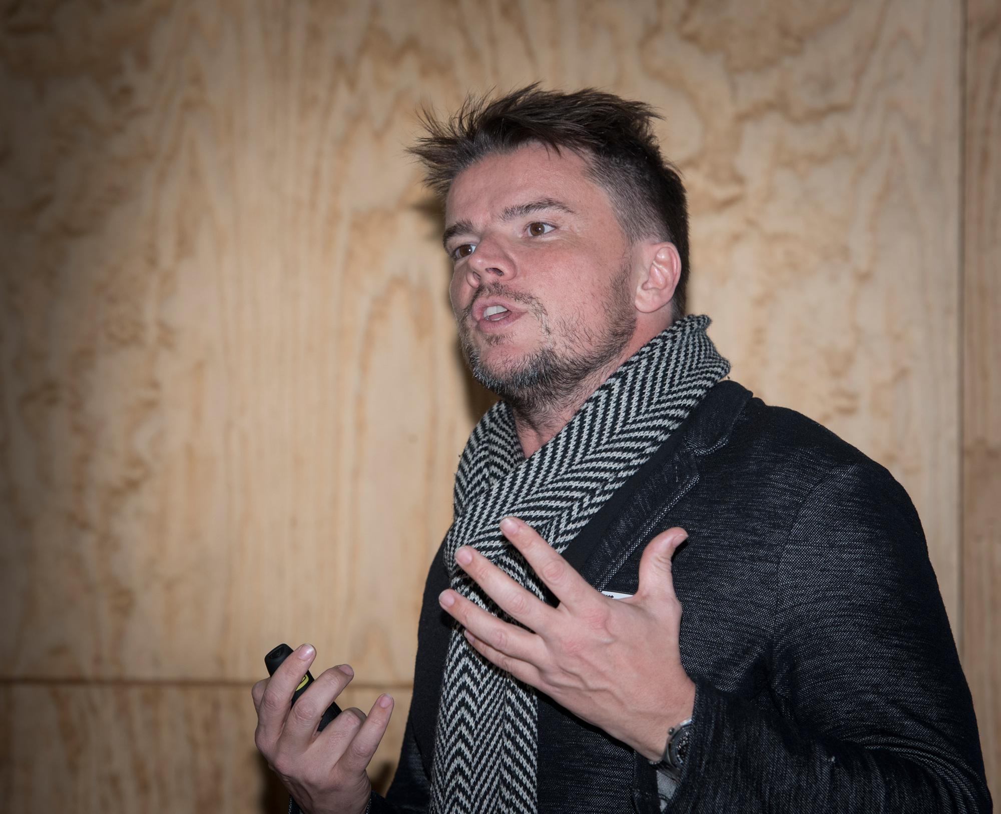 …und so sein Erschaffer, der dänische Architekt Bjarke Ingels.