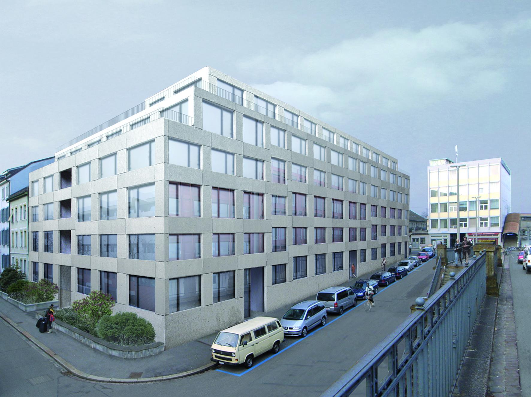 So sieht das Neubau-Projekt aus, das das Zürcher Architekturbüro Zita Cotti entwarf.