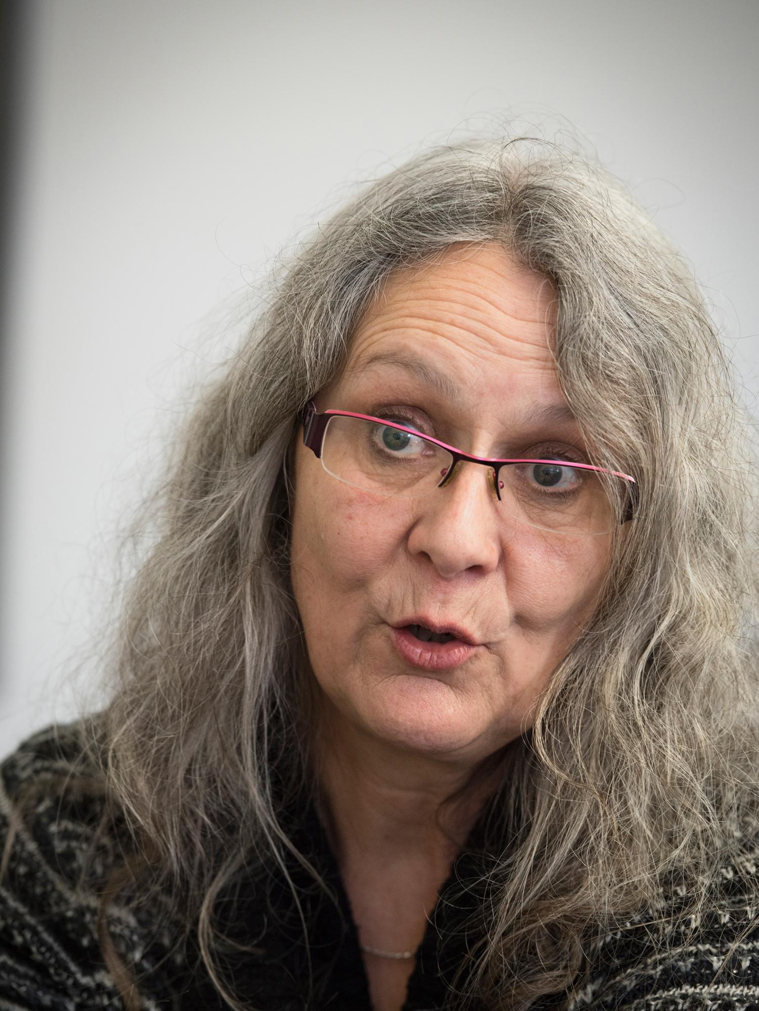Ursula Vogt redet gerne von Selbstbestimmung.