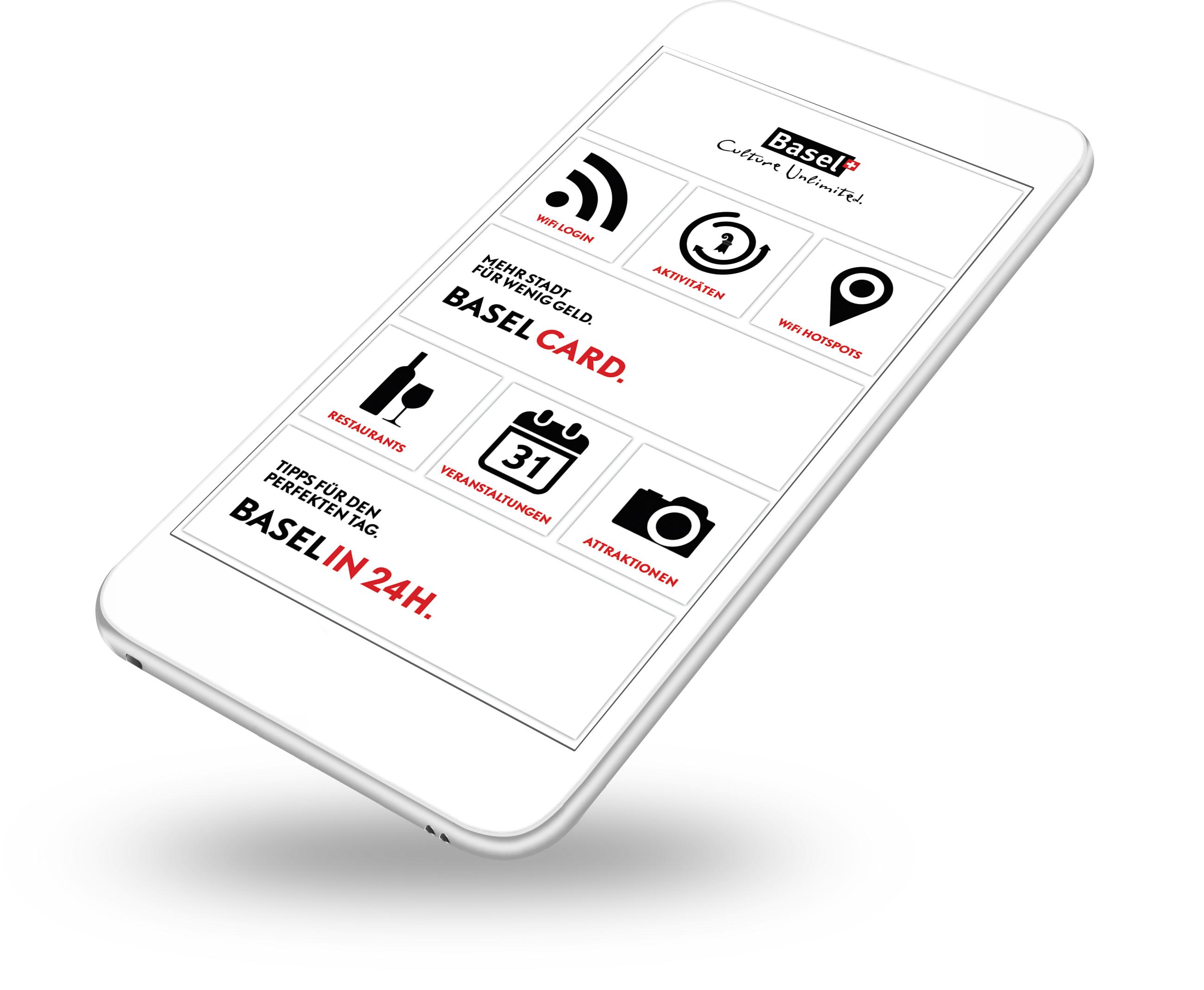 Diese App kommt mit dem WLAN und bietet Infos über Stadtführungen, Restaurants, Veranstaltungen und Attraktionen für Touristen.