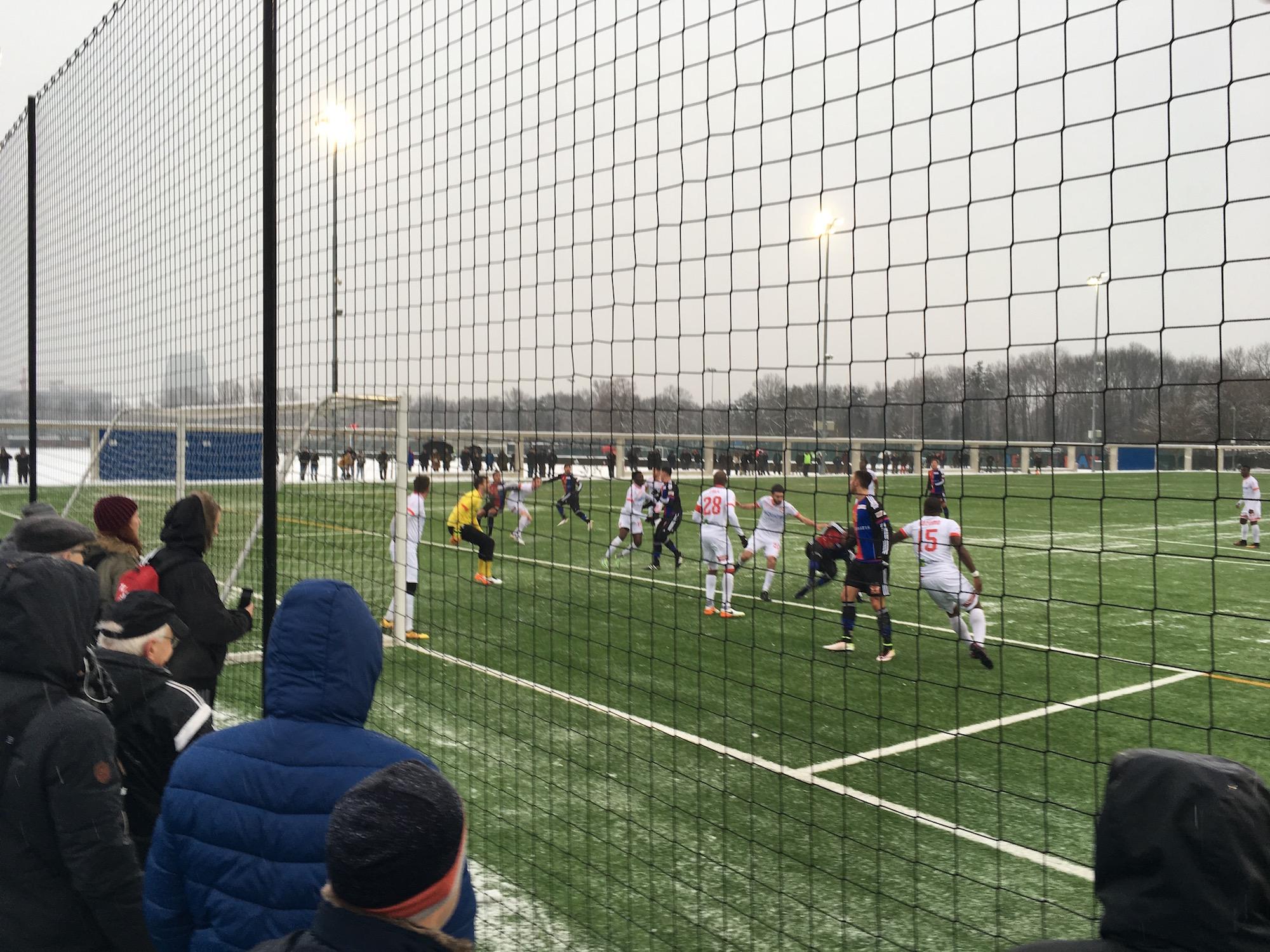 Testspiel FC Basel FC Le Mont 2:1 10. Januar 2017 Nachwuchs Campus