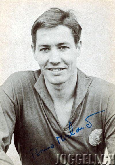 Bruno Michaud (1935-1997) absolvierte zwischen 1955 und 1970 im Trikot des FC Basel 355 Spiele und war Captain der ersten Mannschaft.