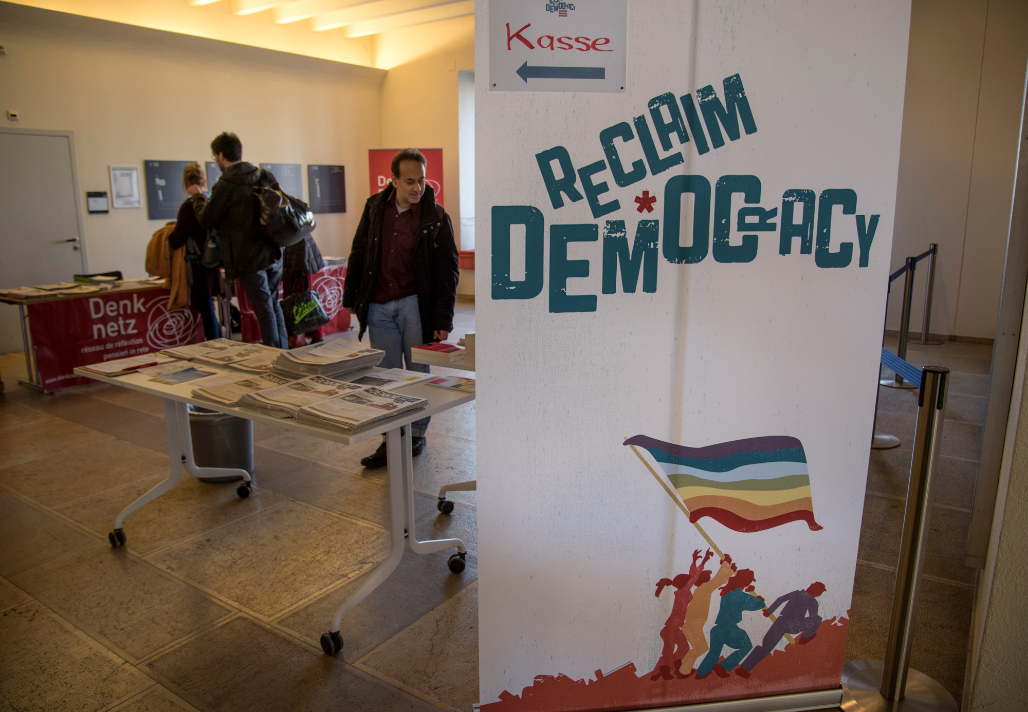 Während drei Tagen stand die Uni Basel ganz im Zeichen der Demokratie: Vom 2. bis zum 4. Februar fand der Kongress «Reclaim Democracy» statt.