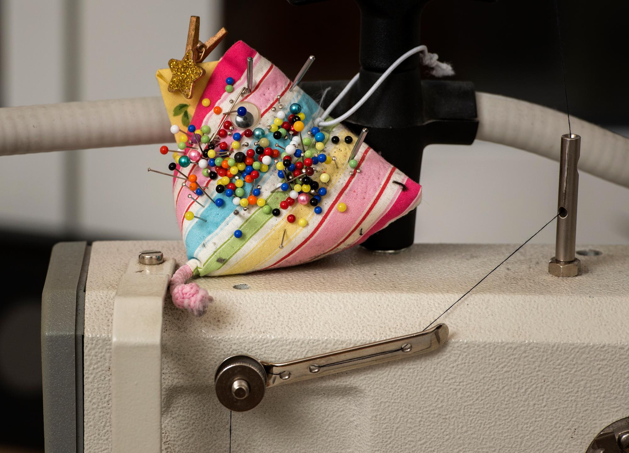 Ein Guufechüssi im «Guufechüssi» – der Name für das Atelier hat Andrea Maurer von ihrer Vorgängerin übernommen.