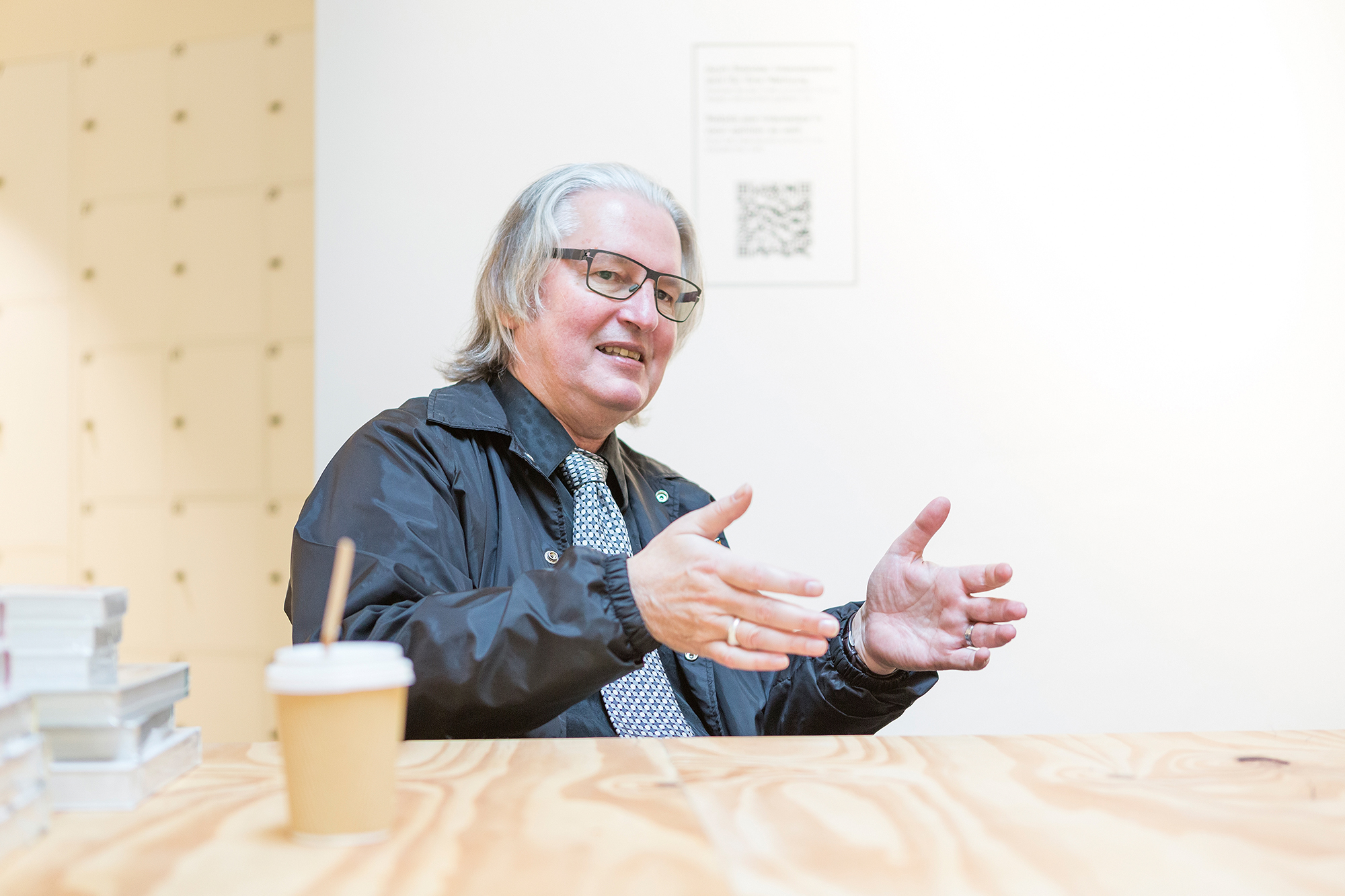 Bruce Sterling im TagesWoche-Interview.