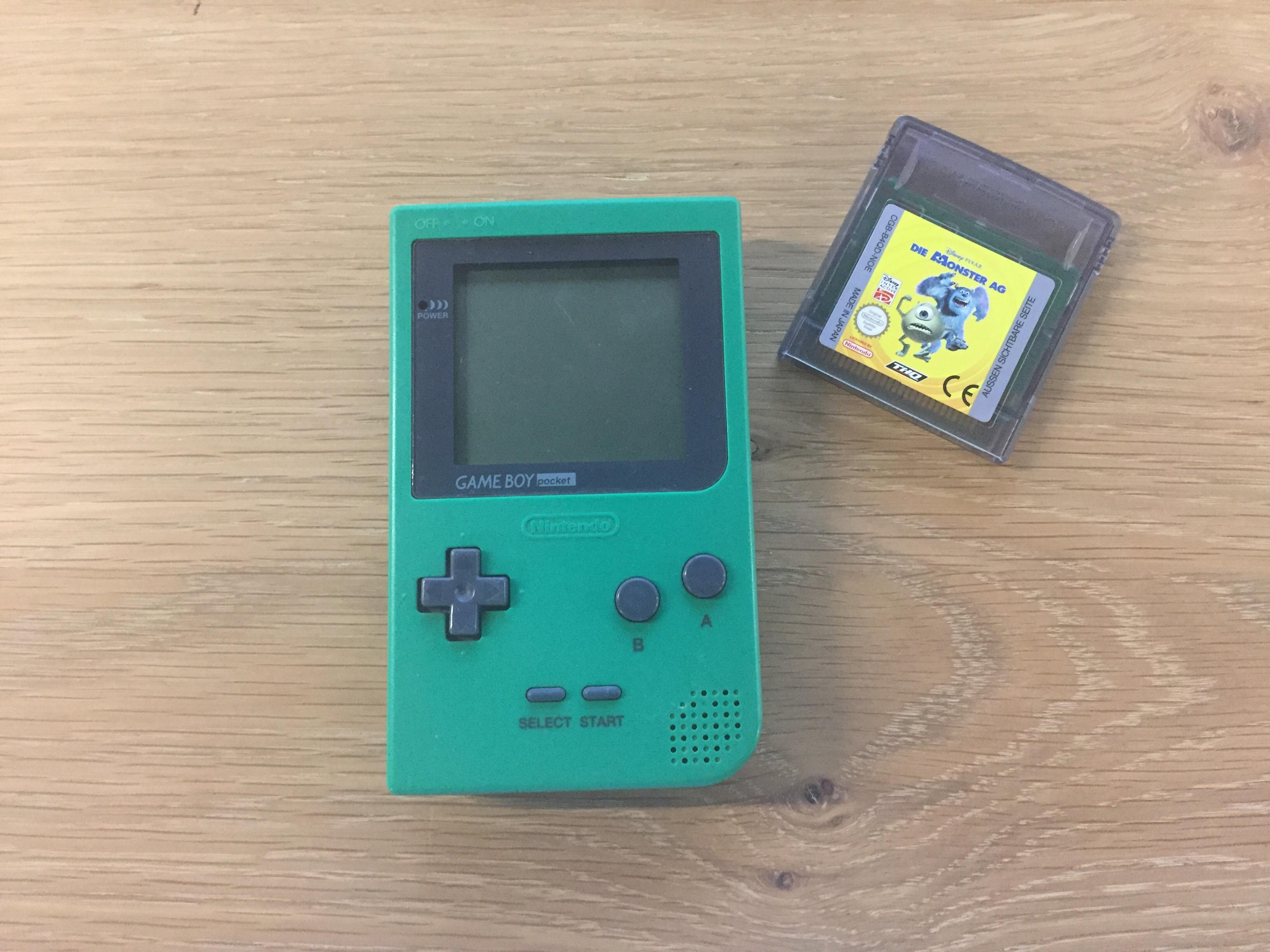 Zum Schluss gabs dann doch auch für mich einen Gewinn – zwar mit einem Spiel, das nur auf einem anderen Game Boy funktioniert, aber man kann nicht alles haben.