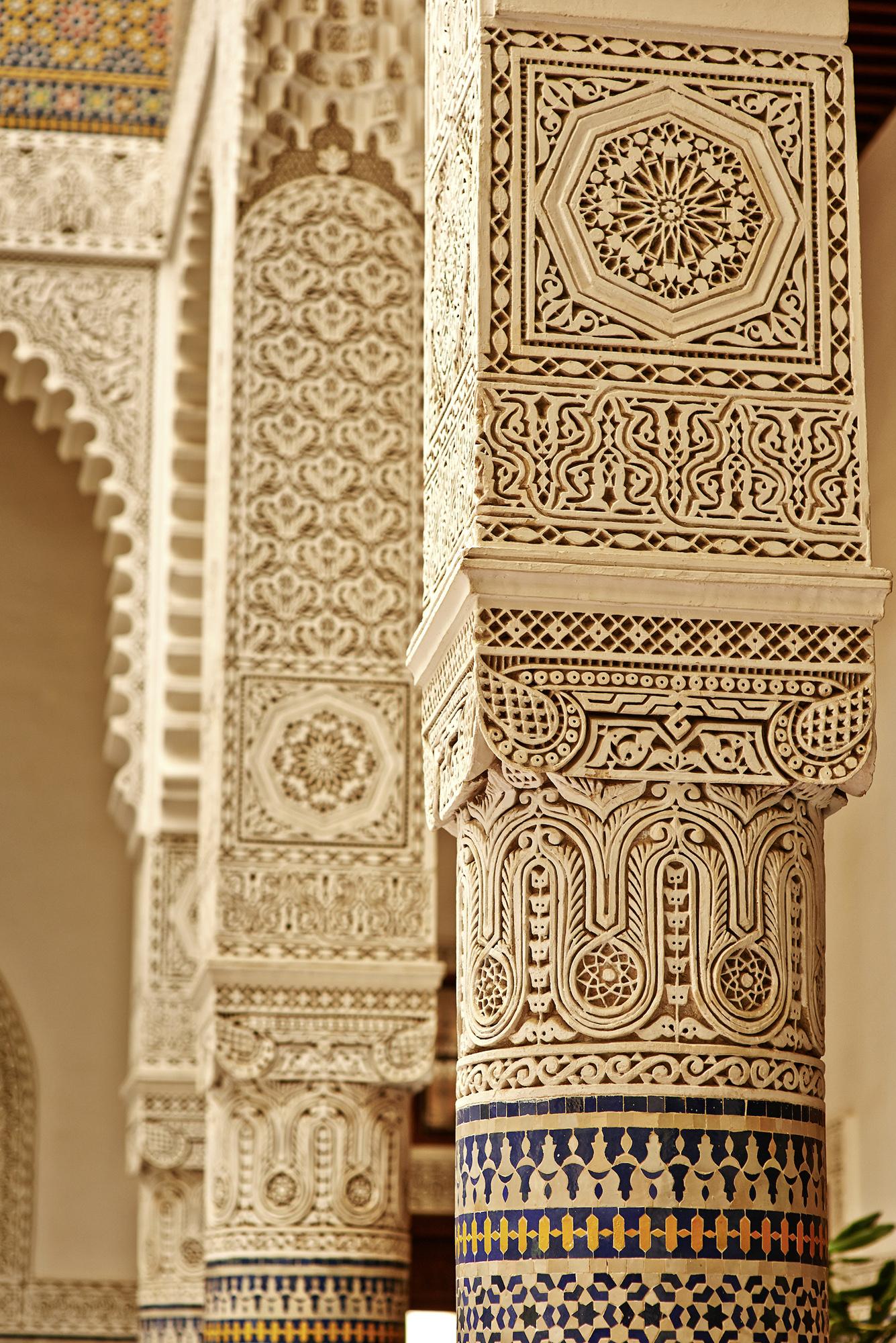 Maroc, Fes, Riad Fes Relais et Chateaux, Architecture