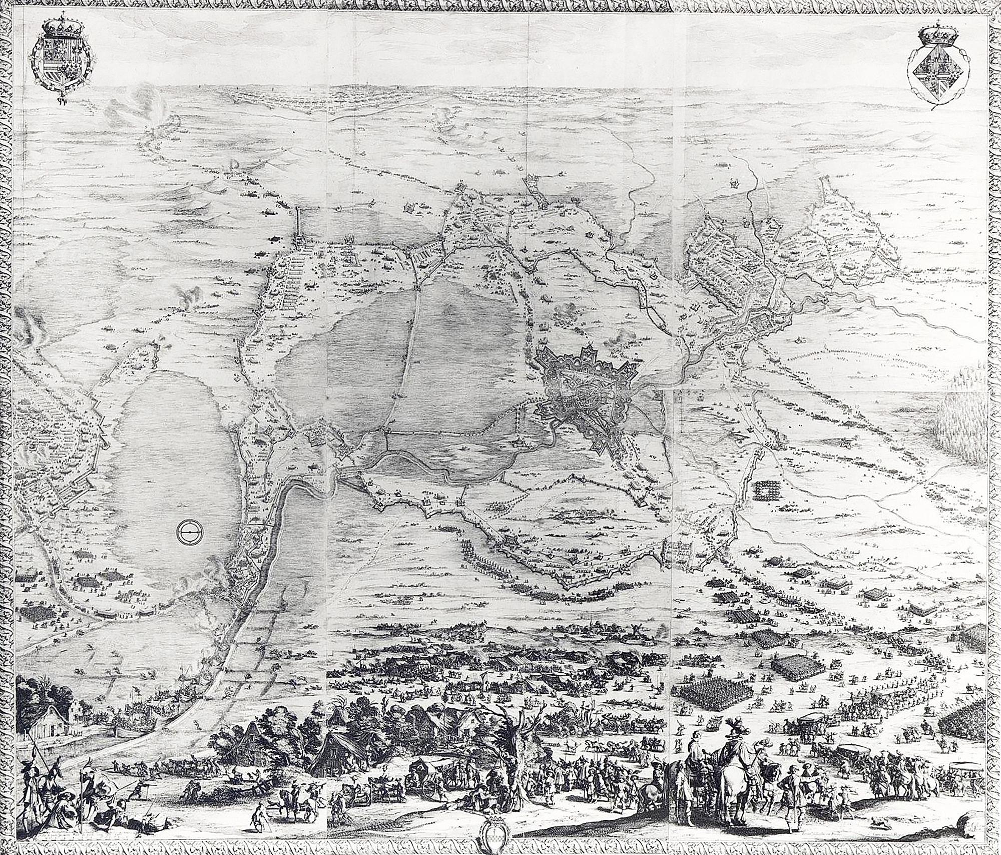 «Die Belagerung von Breda».