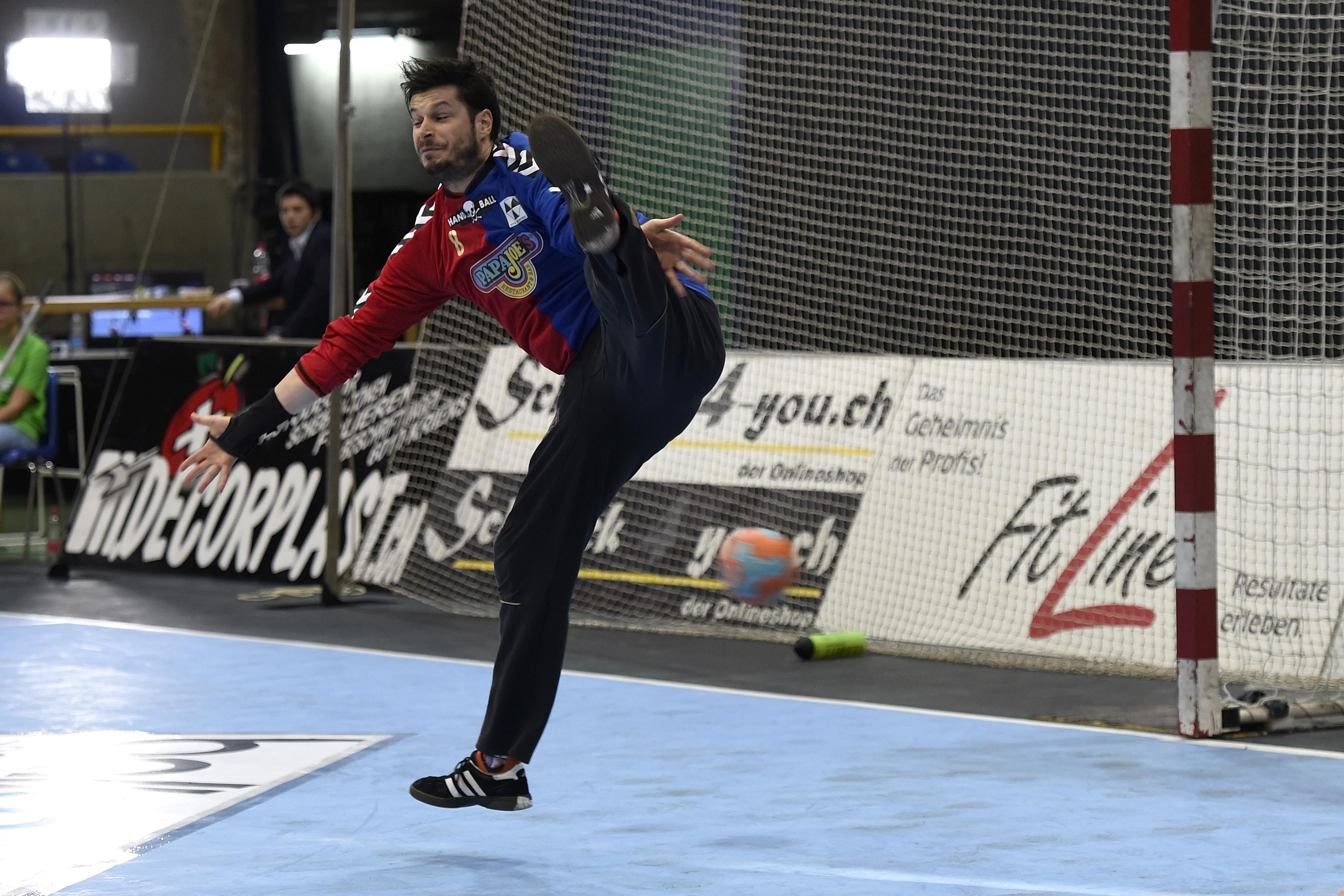 Pascal Stauber im letzten Spiel seiner Karriere.