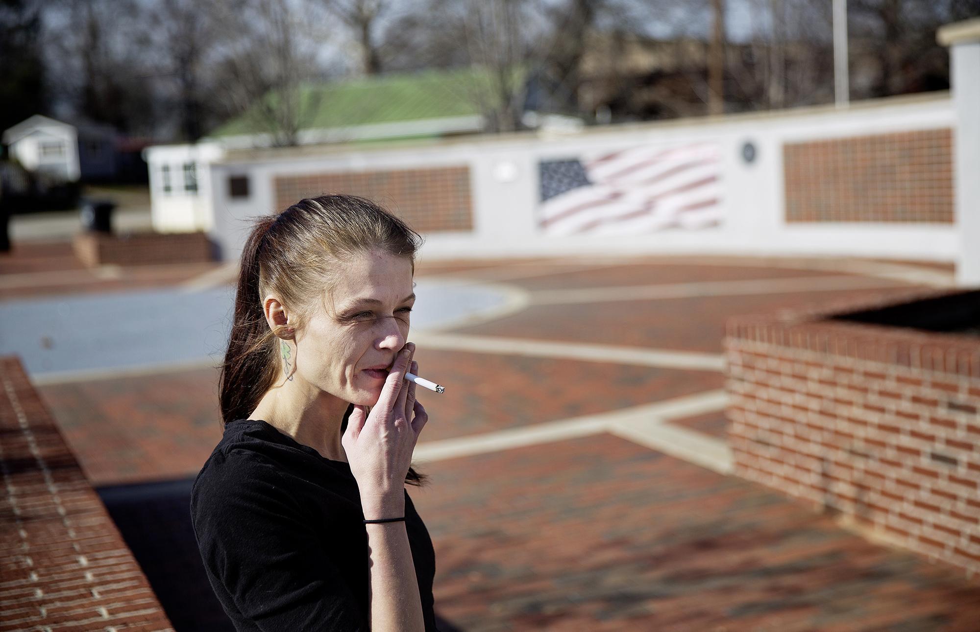 Ashley Chandler ist das, was einige Amerikaner «white trash» nennen. Sie hofft, dass Donald Trump ihre Wirklichkeit «weniger schwierig»macht.