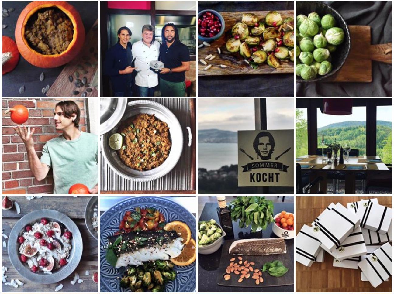 Yann Sommer Küche : Bälle mit pistazien u warum yann sommer einen food betreibt
