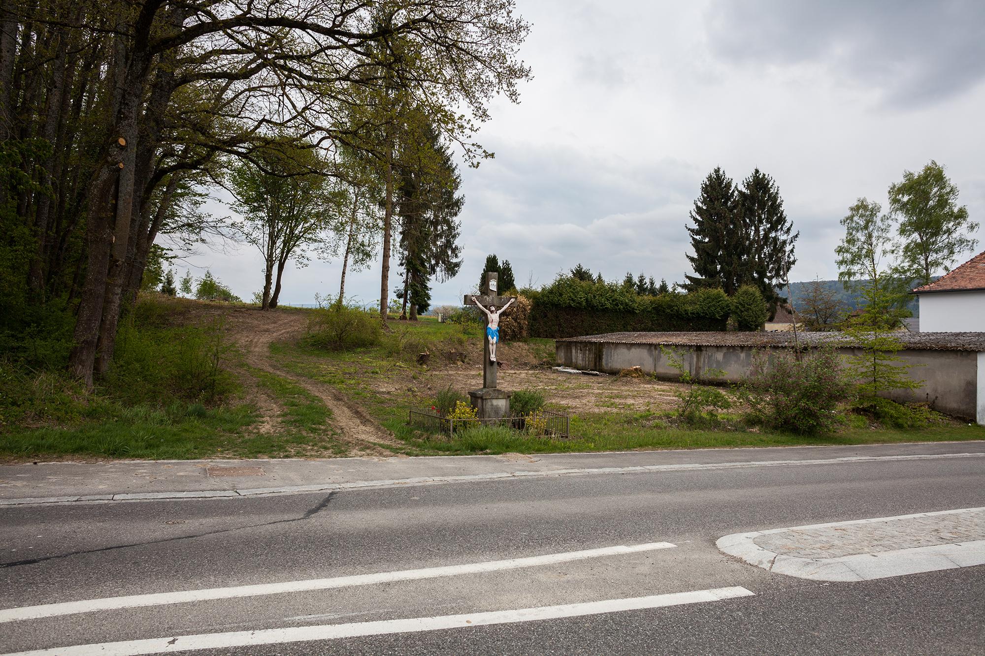 Am Dorfeingang von Werentzhouse.