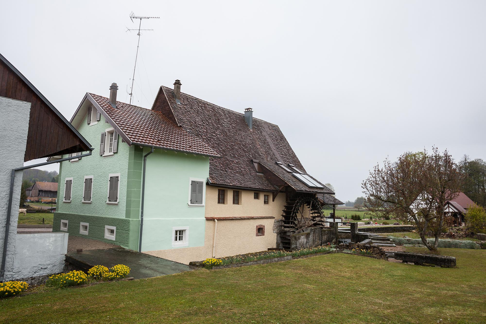 Die Mühle von Werentzhouse.
