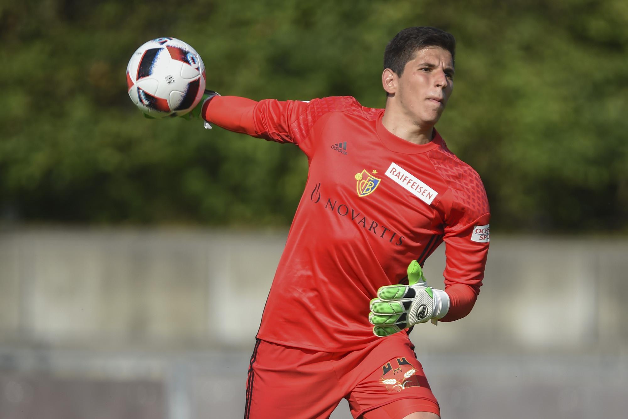 01.07.2016; Geretsried; Fussball - TSV 1860 Muenchen - FC Basel; Torhueter Djordje Nikolic (Basel) (Andy Mueller/freshfocus