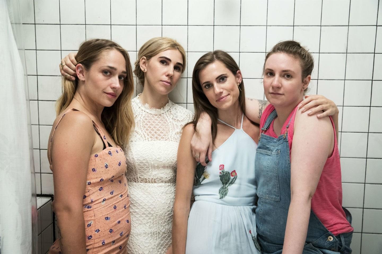 Haben Grosses geschaffen: Jemima Kirke, Zosia Mamet, Allison Williams und Lena Dunham.