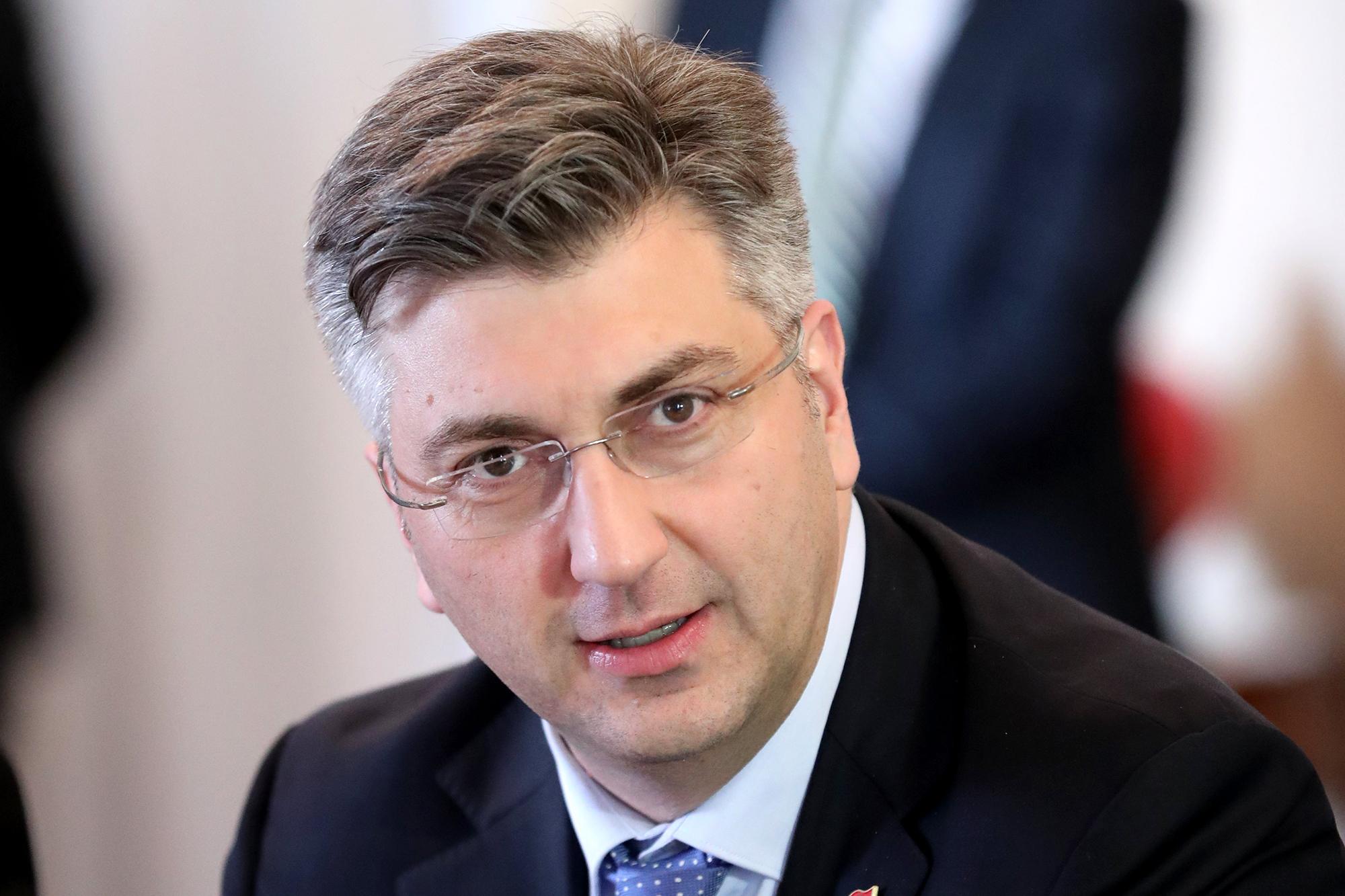 Schulterschluss mit Rechtsextremen: Für den kroatischen Premierminister Andrej Plenkovic ist das eine realistische Option.