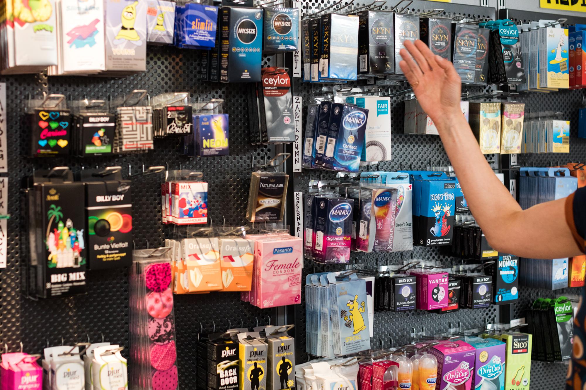 Die Condomeria in Basel muss Ende Juni 2017 schliessen.