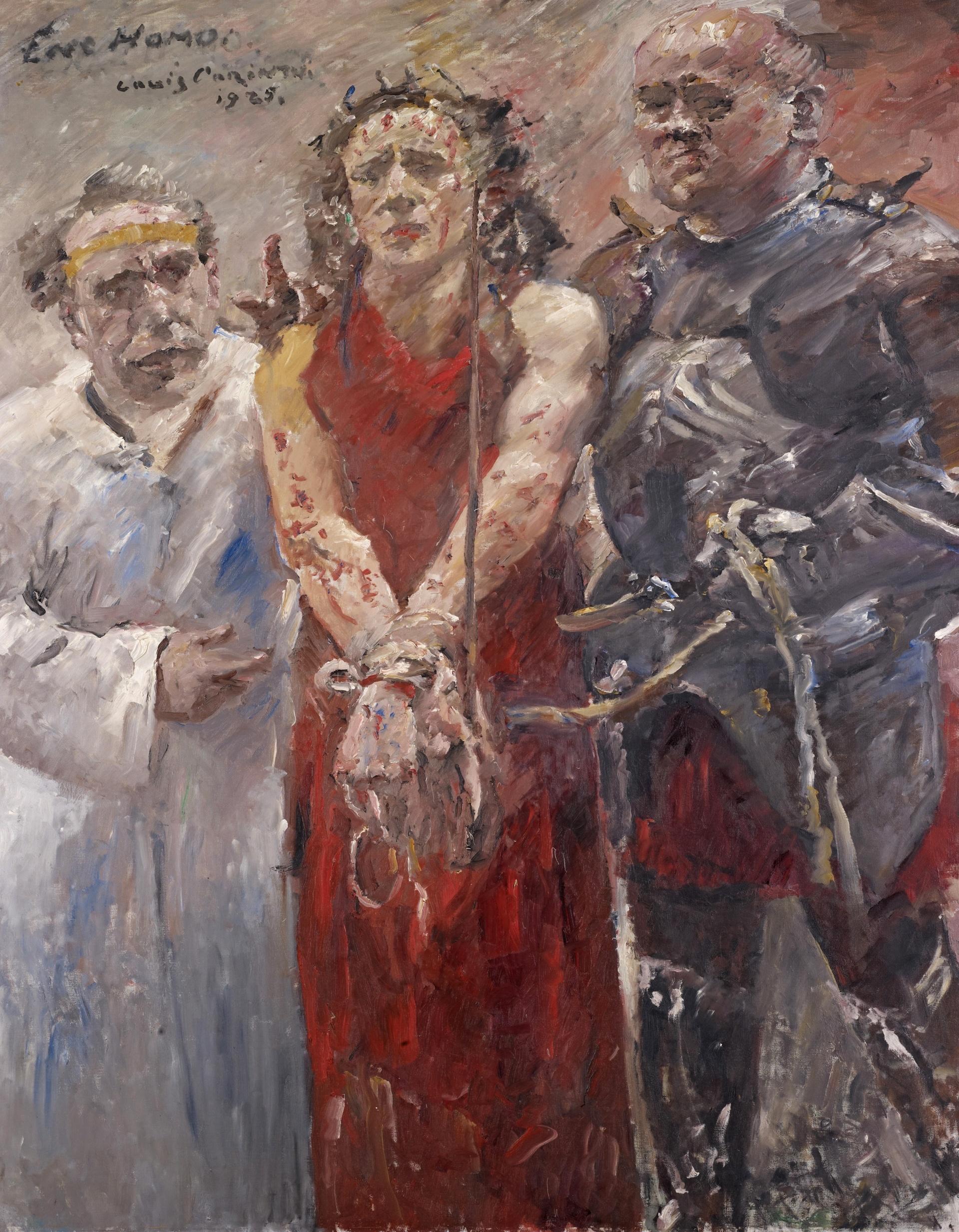 «Ecce Homo» von Lovis Corinth (1925)
