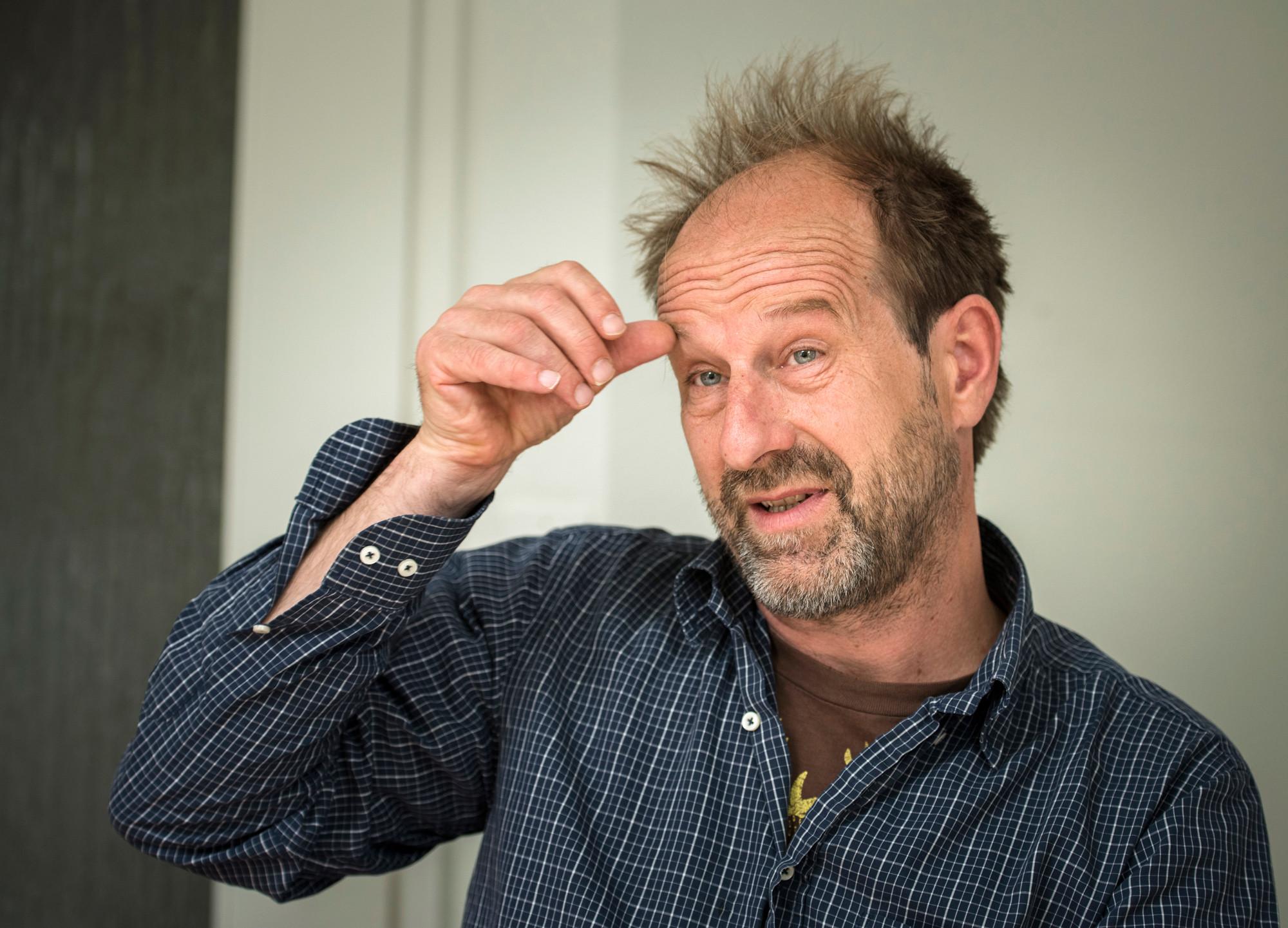 Thomas Ebinger, Co-Leiter Vertrieb «Surprise» Strassenmagazin.