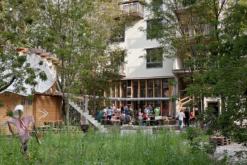 In Berlin bereits Realität: Gemeinschaftliches Wohnen in der Spreefeld-Genossenschaft in Berlin.