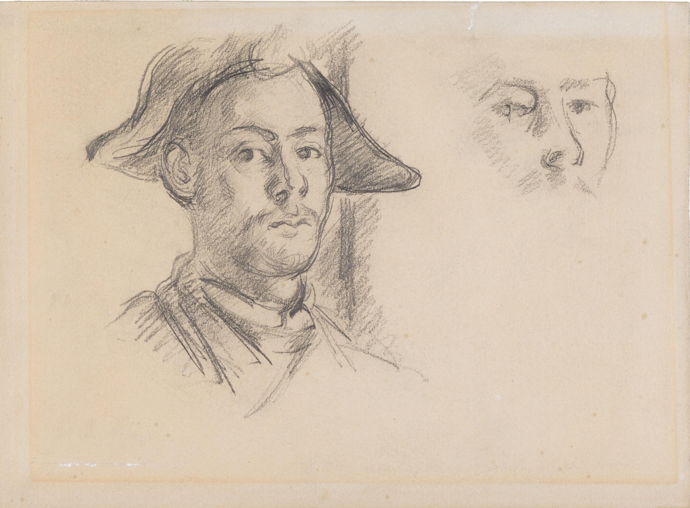 Cézannes' Sohn Paul als Harlekin.