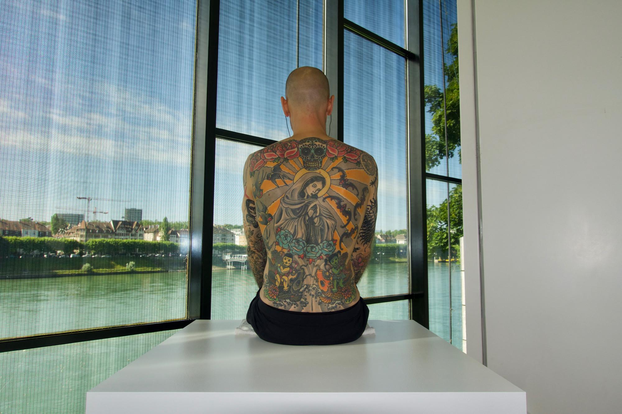 Werk und Haut verkauft: «Tim» von Wim Delvoye.