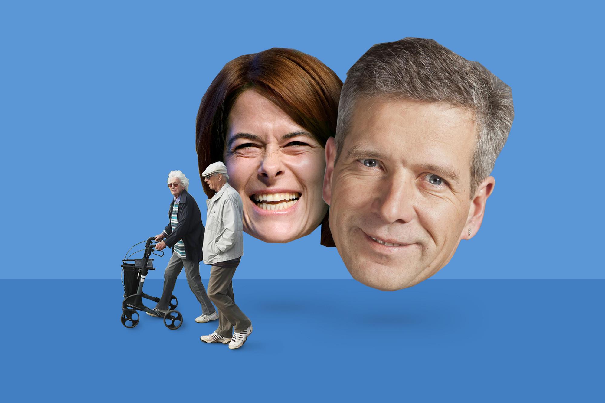 Mit einer besseren Kommunikationsstrategie hätten Petra Gössi (FDP) und Thomas de Courten (SVP) Grosses leisten können.