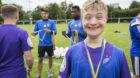 Beim «Special Youth Camp» ist jeder Teilnehmer medaillenwürdig. Und zurecht stolz darauf.