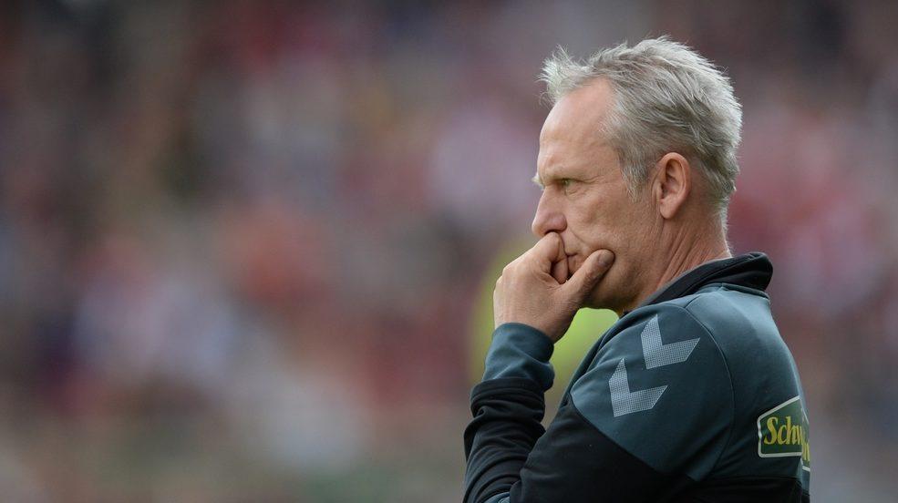 ARCHIV - Fußball: Bundesliga, SC Freiburg - Werder Bremen, 26. Spieltag am 01.04.2017 in Schwarzwald-Stadion, Freiburg (Bade