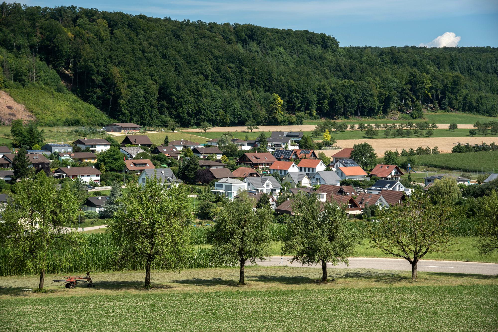 Ein schöneres Dorf als Hersberg muss man erst noch finden.