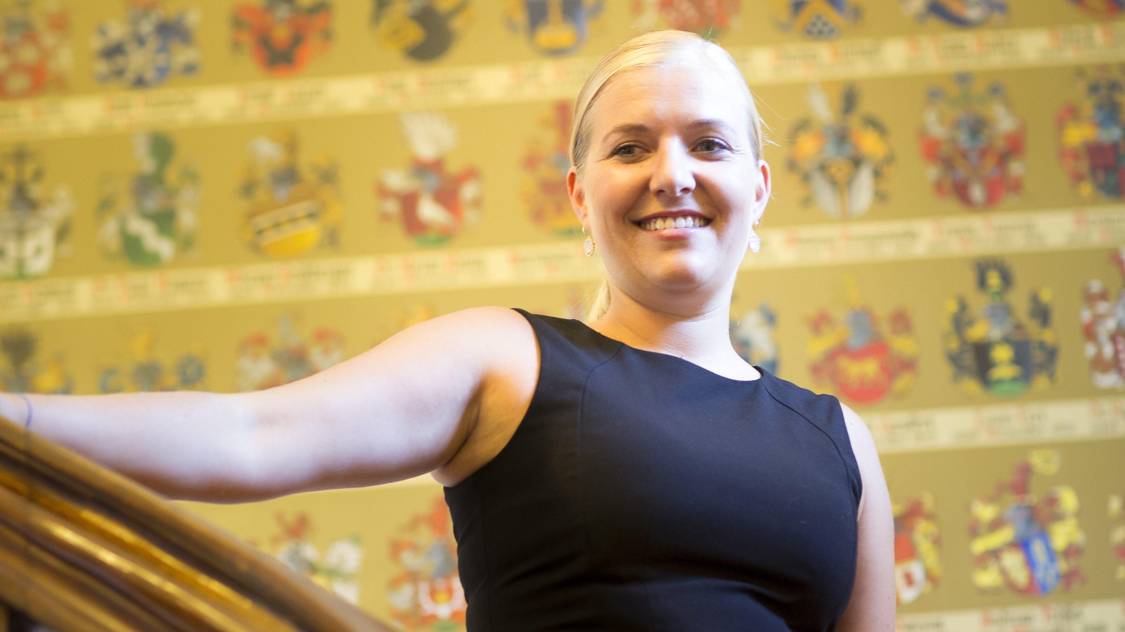 Die neue Wirtin im «Schützenhaus»heisst Sandra Oberson und ist 31 Jahre alt.