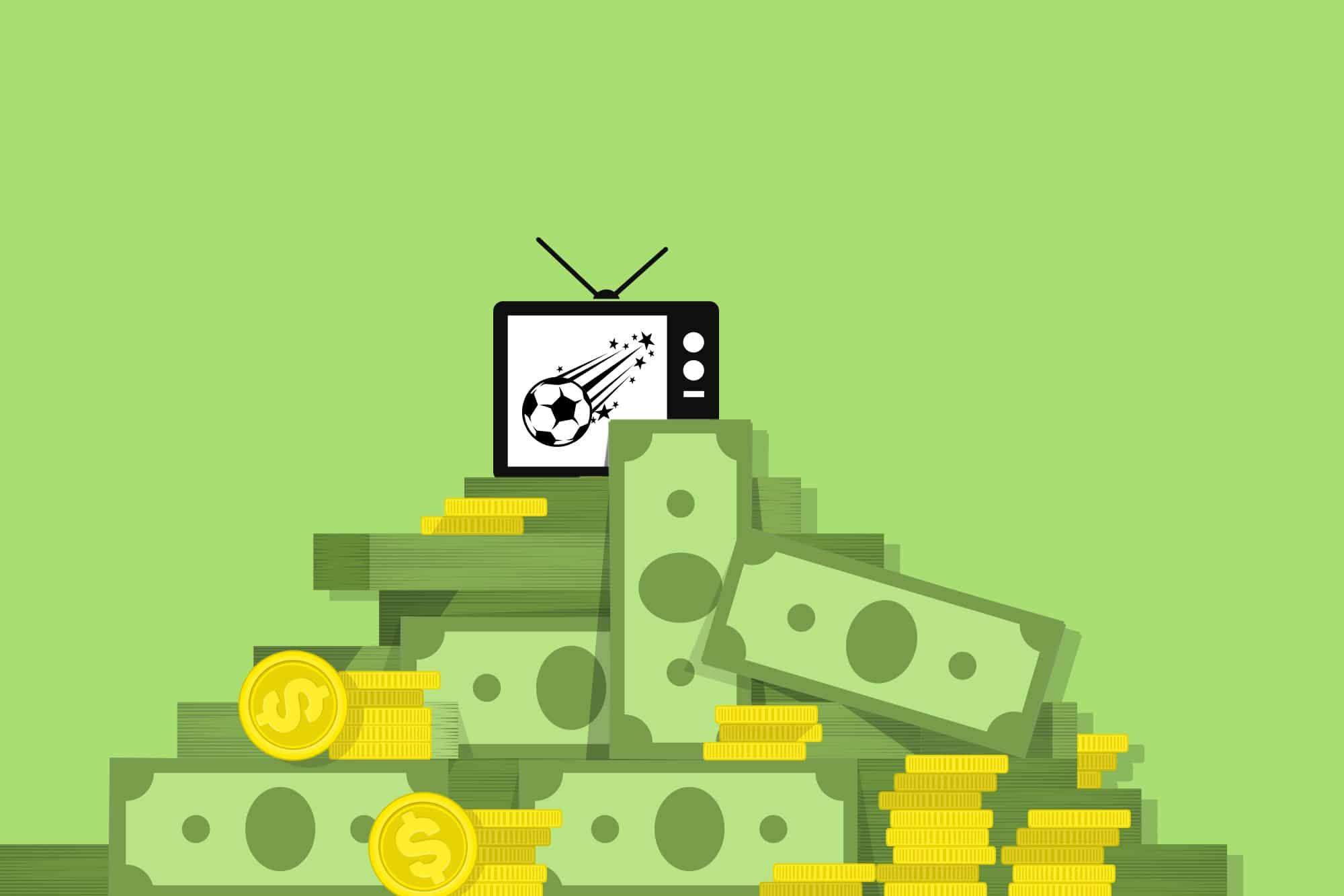 Fernsehen  und Internet machen es möglich: 4,6 Milliarden Euro fliessen in den nächsten vier Jahren an die Bundesligisten.