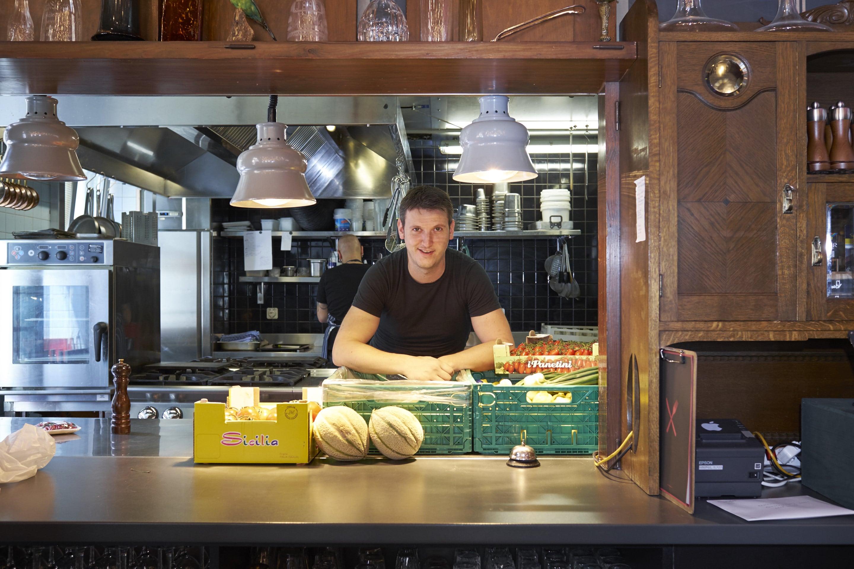 Ein Küchenchef, der nicht rumbrüllen muss: Roger von Büren