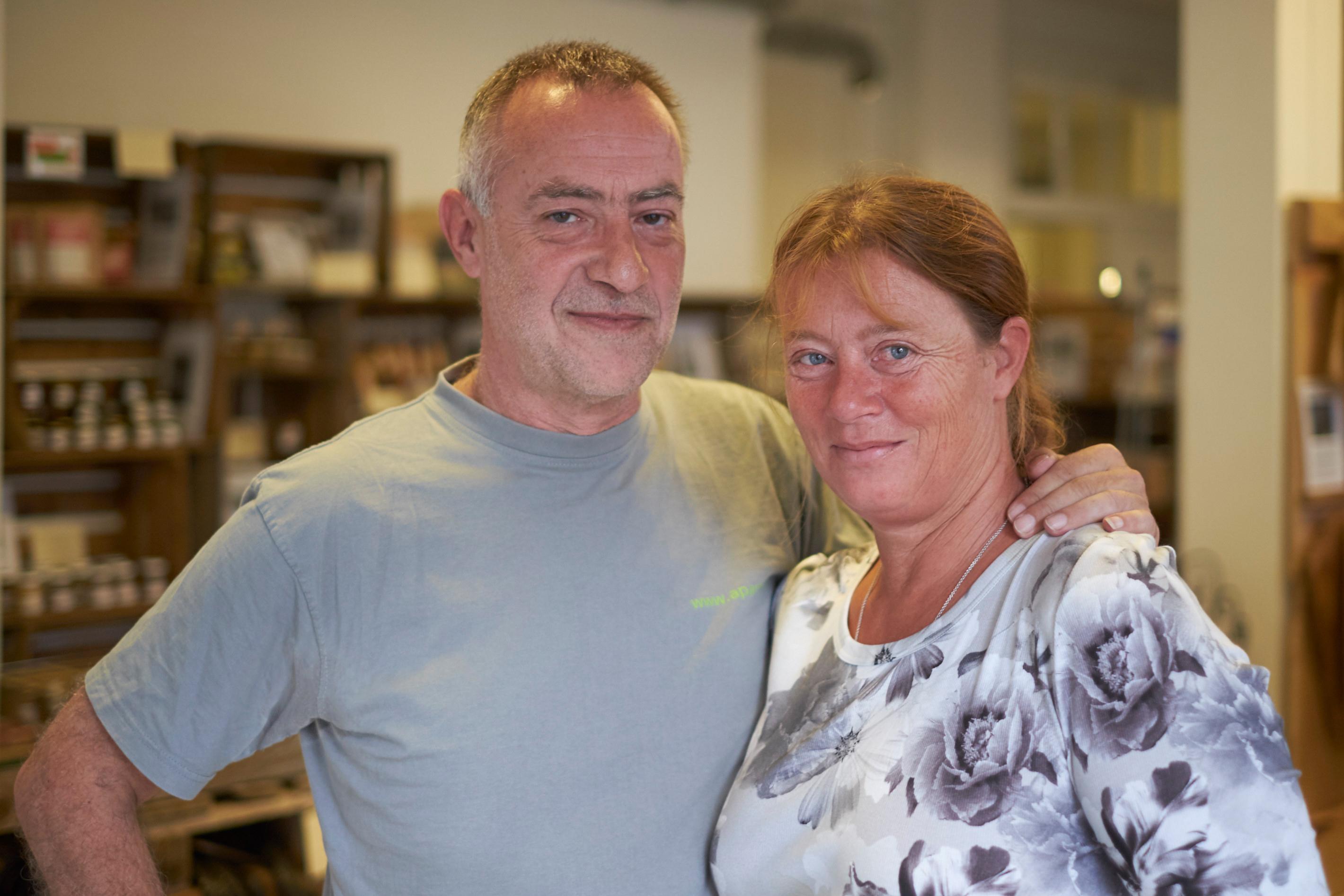 Bernhard Minnig und Anita Hettich durften ihren Laden Apartix an der Jungstrasse 36 endlich eröffnen.