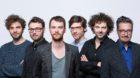 Amir Mustedanagić (2. v.l.) verlässt die TagesWoche, Tino Bruni, Renato Beck, Thom Nagy, Reto Aschwanden  und Gabriel Brön