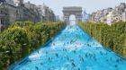 Die Champs-Elysées rauf- und runterschwimmen? Ganz so weit ist es noch nicht.