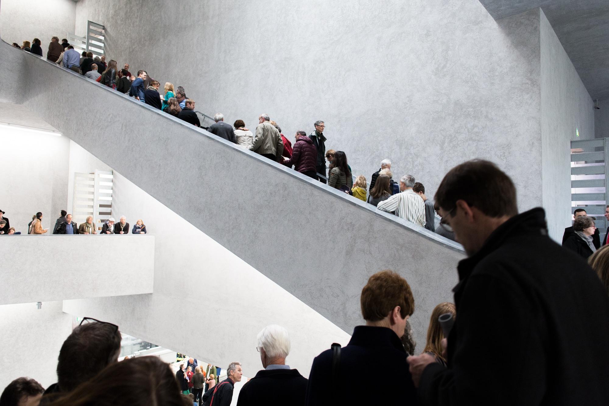 So gut besucht wie am ersten Tag war der Erweiterungsbau des Kunstmuseums nie mehr.