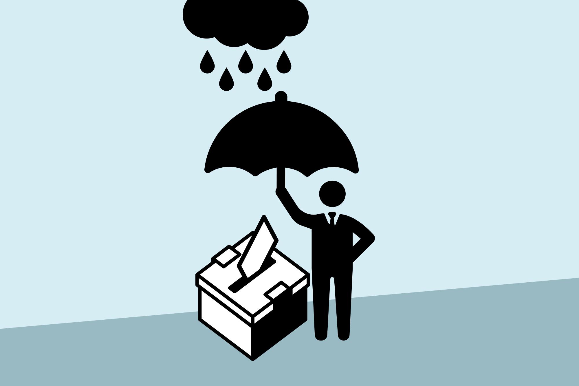 Ein Volks-Ja kommt bei gutem Wetter eher zustande als bei Regen.