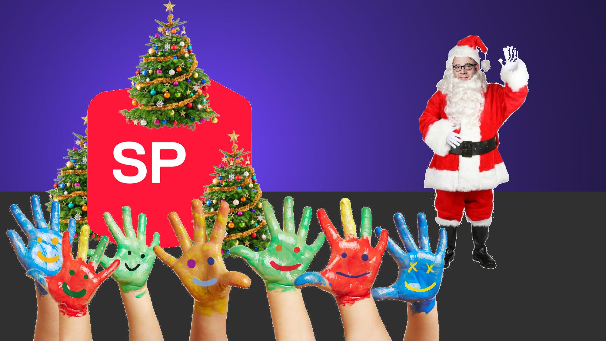 So rot ist der Weihnachtsmann: Die SP lanciert eine eigene Ferienbetreuung.