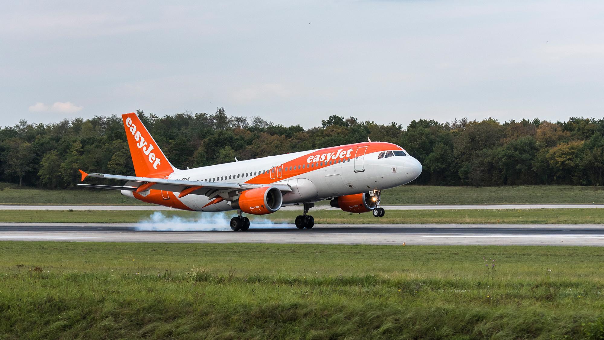 Die orangefarbenen Flieger starten und landen am EuroAirport zeitweise im 5-Minuten-Takt. In Zukunft könnte es noch häufige